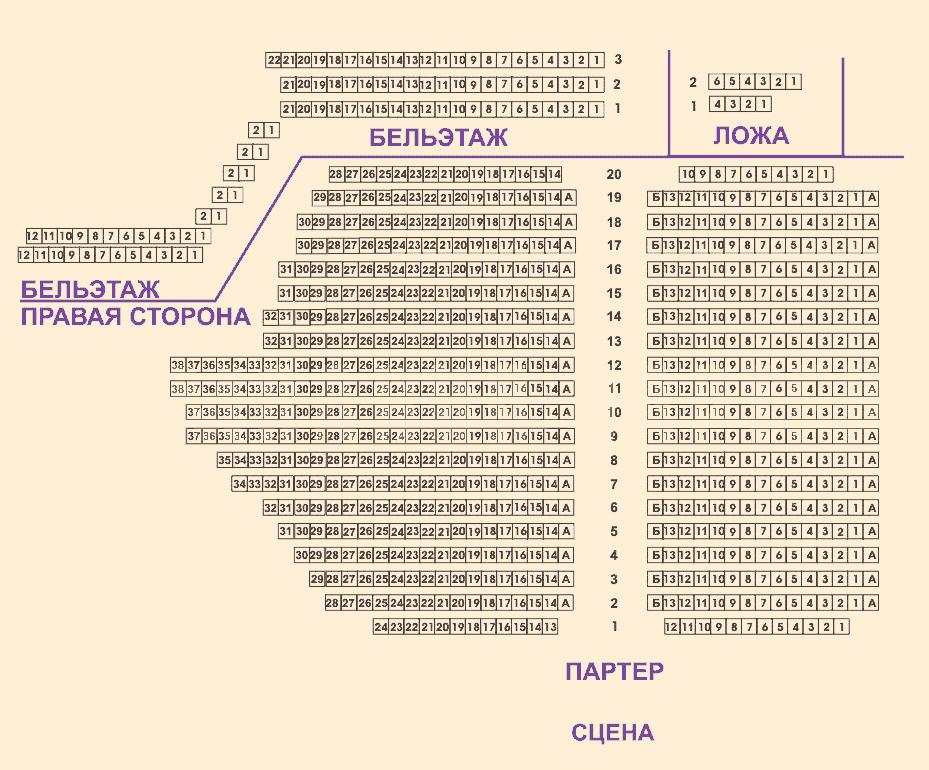 схема театра таганки содружества
